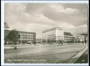 U9293/ Hamburg Wandsbek Haspa-Haus und Post AK ca.1965