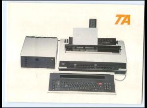 Y16269/ Triumph-Adler Schreibmaschine Werbung Reklame AK Postkarte
