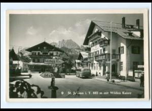 Y15398/ St. Johann in Tirol Omnibus Foto AK ca.1955