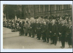 U9852/ München Einweihung Kriegerdenkmal Foto AK 1928