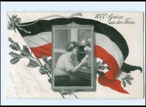 Y15642/ 1000 Grüße aus der Ferne 1. Weltkrieg AK 1916