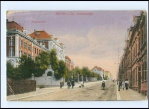 Y15709/ Hartha i. S. Wilhelmstraße Bürgerschule AK 1930