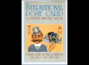 Y15655/ International Postcard Salon London Ansichtskarten-Markt 1976