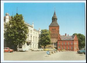 Y15677/ Sternberg Karl-Liebknecht-Platz Bild und Heimat AK