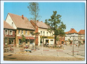 Y15679/ Hagenow Rudolf-Breitscheid-Platz Bild und Heimat AK