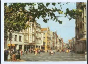 Y15684/ Rostock Kröpeliner Straße Bild und Heimat AK