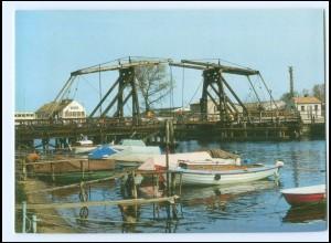 Y15687/ Greifswald Wiecker Klappbrücke Bild und Heimat AK