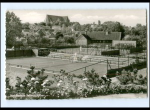 XX009193/ Helmstedt Tennisplatz AK ca.1965