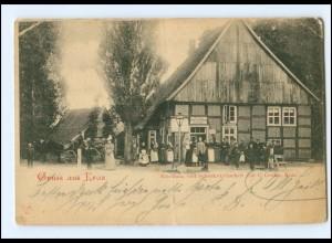 XX10183/ Gruß aus Krax bei Gütersloh Schankweitschat C. Cordto 1900 AK