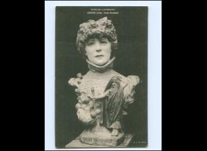 Y15761/ Sarah Bernhardt Skulptur Ak ca. 1920