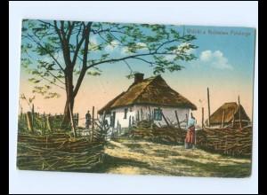 Y15762/ Widoki z Krolestwa Polskiego Polen AK Feldpost 1915
