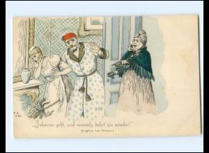 Y15767/ Jungfrau von Orleans Künstler AK ca.1900