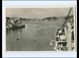 Y15769/ Haugesund Norwegen Foto AK ca. 1930