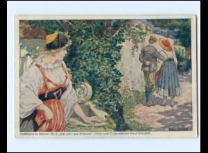 Y15771/ Deutsche Kolonial Kriegerspende Kolonien AK Volkslieder in Bildern