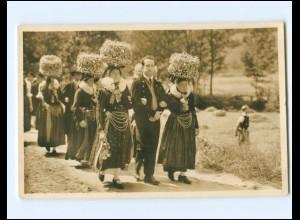 Y15784/ Schwarzwaldtrachten Villingen Foto AK 1936