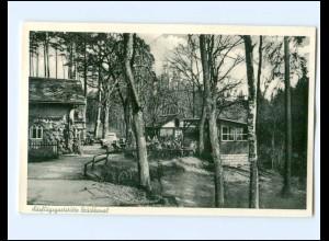 Y15792/ Ausfluggaststätte Bruchkanal bei Feucht AK ca.1955