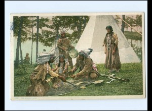 Y15808/ The Moccasin Game Indianer AK 1909