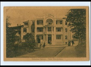 Y15925/ Göhren Rügen Hotel Brandenburg AK 1926