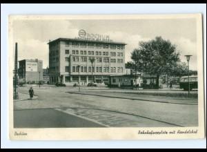 U9890/ Bochum Bahnhofsvorplatz AK 1953