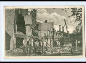 U9882/ Eydtkuhnen zerstört Ostpreußen WK1 AK 1916