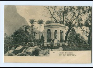 Y15959/ Rio de Janeiro Jardim Botanico Brasilien AK 1907