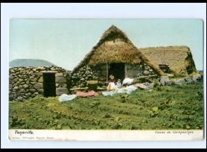 Y15960/ Teneriffa Tenerife Casas de Campesinos Spanien Ak ca.1900