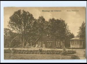 U9885-2082/ Moorrege bei Uetersen Harms Pensionat Ak 1916