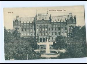 Y15869/ Stettin Rathaus AK Pommern ca.1910