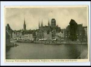 U9940/ Danzig Sternwarte, Rathaus AK 1937