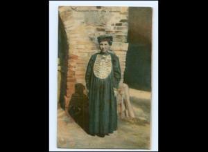 Y15898/ Russische Typen Tartarenfrau Rußland AK 1917