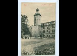 Y15899/ Stettin Schloß Uhrturm Pommern AK ca.1910