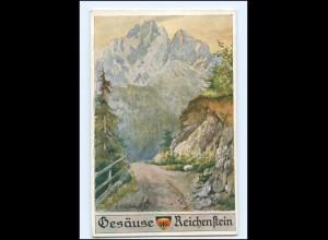 Y15900/ Gesäuse Reichenstein Steiermark Deutscher Schulverein AK Nr.599