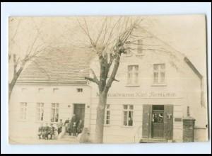 U9976-167/ Altlüdersdorf b. Gransee Kolonialwaren Formumm Foto AK ca.1912