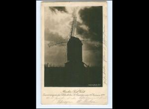 Y15988/ Windmühle Moulin Tout Vent Schlacht bei St. Quentin 1871 AK 1917