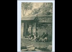 U9970/ Blinde chinesische Musikanten China Ak ca.1910