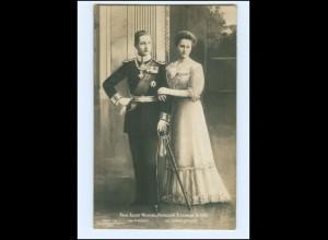 Y15910/ Prinz August Wilhelm + Prinzessin Alexandria Victoria Foto AK 19074