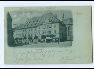 XX009566/ Böhmen Eger Stadthaus 1900 AK