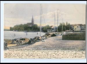 XX009475-172./ Röbel Hafen 1907 AK