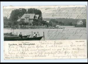 XX009482-172./ Lychen am Oberpfuhl 1904 AK