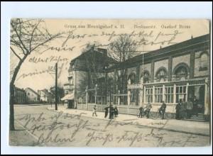 XX009399-167/ Hennigsdorf a. H. Berlinerstr. Gasthof Brose Ak 1917