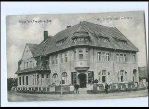 XX009777-157/ Teupitz am See Hotel Schenk von Landsberg Ak 1913
