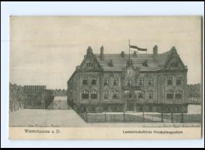 XX009694-168/ Wusterhausen Landwirtschaftliche Haushaltungsschule AK 1912