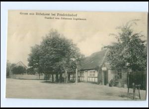 XX009657-168/ Rübehorst bei Friedrichsdorf Gasthof Ingelmann AK 1918