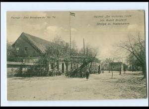 XX009405-165/ Stolpe Kr. Niederbarnim Gasthof Zur krummen Linde AK ca.1912