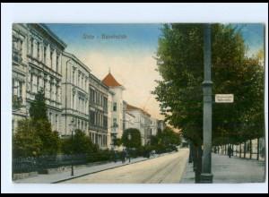XX009440/ Stolp Bahnhofstraße Pommern AK 1922