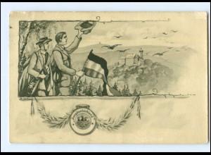 XX009700/ Jungdeutschland AK Wandern 1913