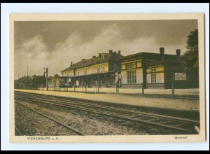 XX009601-3387/ Vienenburg Bahnhof AK ca.1912