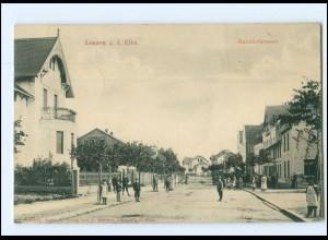 XX009719-193/ Lenzen (Elbe) Bahnhofstraße AK 1909