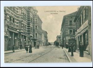 XX009377/ Landsberg a. Warthe Richtstraße AK 1906