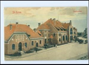 XX009447/ Dt. Eylau Bahnhof Westpreußen AK 1914